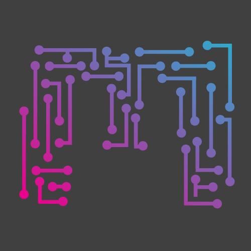 Maze digital crafting digital experience - Wanduhr digital groay ...